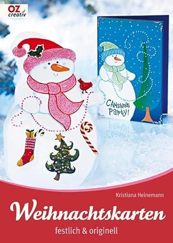 9783866731462: Weihnachtskarten festlich & originell