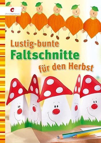 Lustig-bunte Faltschnitte für den Herbst: unbekannt