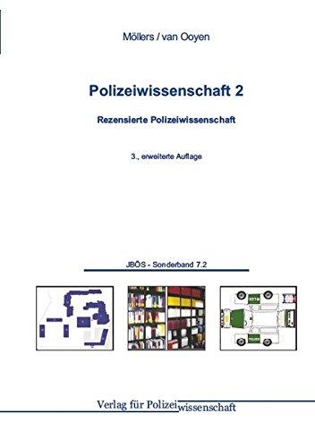 9783866763159: Polizeiwissenschaft 02: Rezensierte Polizeiwissenschaft