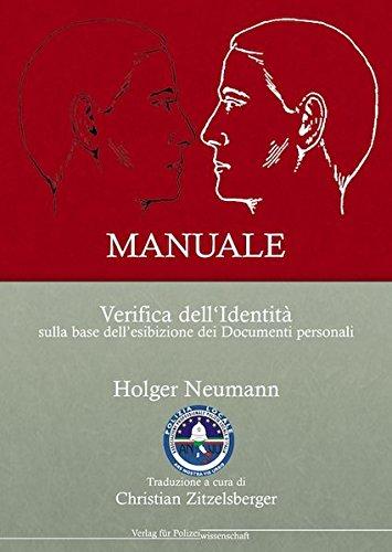 9783866763470: MANUALE Verifica dell' Identità sulla base dellesibizione dei Documenti personali