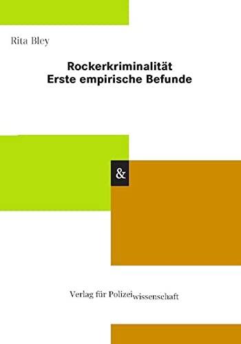 9783866763562: Rockerkriminalität