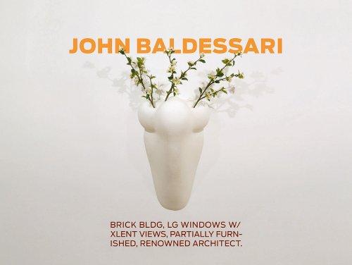 John Baldessari: Brick Bldg, Lg Windows W/Xlent: Baldessari, John. Martin