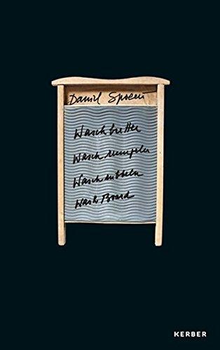 9783866788381: Daniel Spoerri: Waschbretter, Waschrumpeln, Waschrubbeln, Washboard