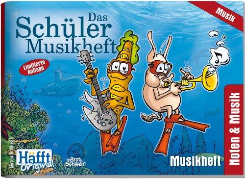 9783866790711: Das Schüler Musikheft (DIN A5 quer)