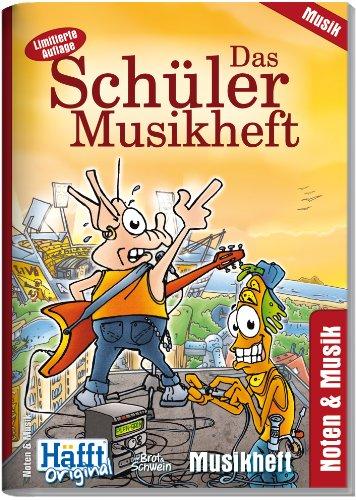 9783866791299: Das Sch�ler Musikheft (DIN A5 hoch)