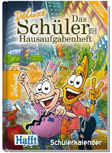 9783866792333: 2012/2013: Häfft: Das Schüler Hausaufgabenheft (DELUXE DIN A5)