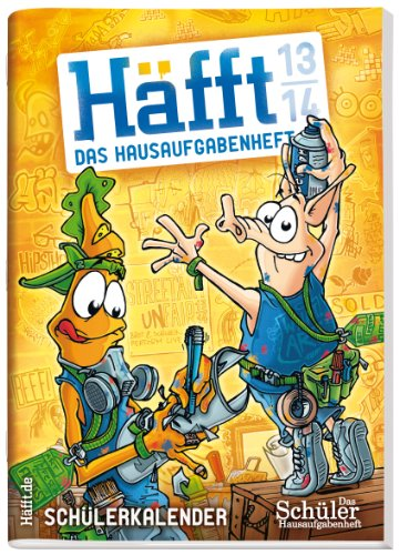 Häfft: Das Hausaufgabenheft! 2013/2014 (Original DIN A5)