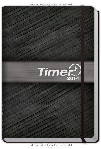 9783866792647: Chäff-Timer Premium 2014 mit Gummiband & Einstecktasche 18 Monate (DIN A5) bis Dez 2014