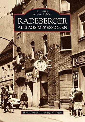9783866805422: Radeberger Alltagsimpressionen
