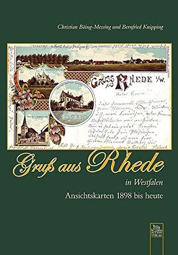 9783866808805: Gruß aus Rhede in Westfalen: Ansichtskarten 1898 bis heute