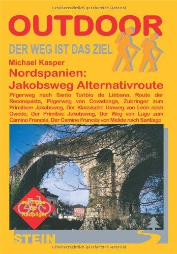 9783866861411: Nordspanien: Jakobsweg. Alternativrouten