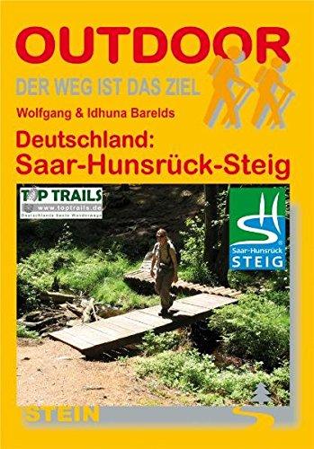 9783866862494: Deutschland: Saar-Hunsrück-Steig