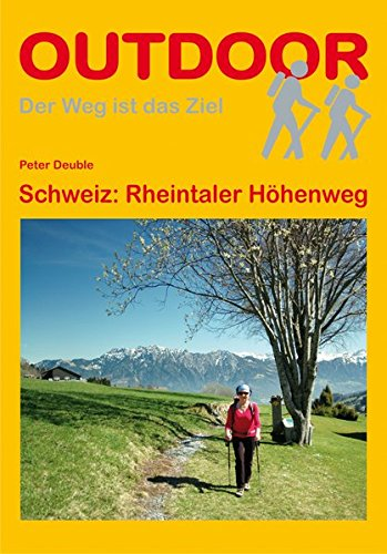 9783866862920: Schweiz: Rheintaler Höhenweg