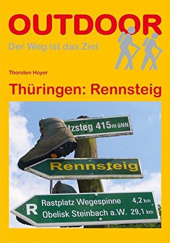 9783866864016: Thüringen: Rennsteig