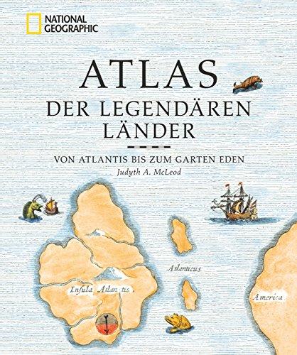 9783866903098: Atlas der legendären Länder