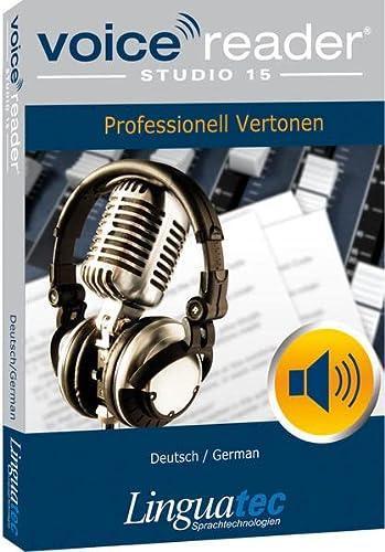 9783866912045: Voice Reader Studio 15 Allemand / Deutsch / German - Professional Text-to-Speech Software - Logiciel synthèse vocale (TTS) pour Windows PC - Sonorisation professionnelle - Qualité vocale exceptionelle - Transformer tout type de texte en audio