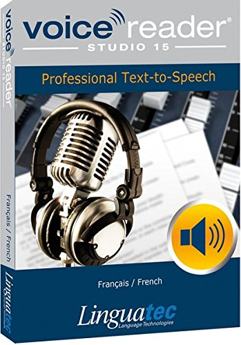 9783866912120: Voice Reader Studio 15 Fran�ais / French - Professional Text-to-Speech - Logiciel synth�se vocale pour Windows