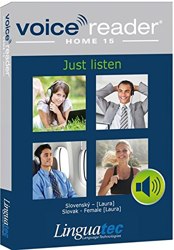 9783866913035: Voice Reader Home 15 Slovak - Female voice (Laura) - Easy to use Text-to-Speech Software | Listen to text anytime and anywhere | Your personal reader with a natural sounding voice| Available in 45 languages