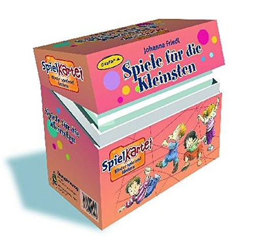 9783867020589: Spiele für die Kleinsten: Spielkartei
