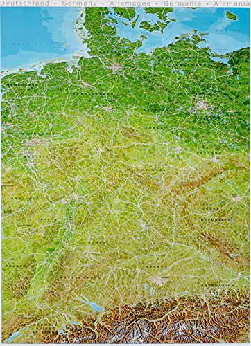 Panorama-Poster Deutschland