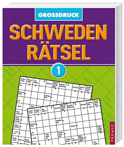 9783867062176: Schweden-Rätsel Großdruck