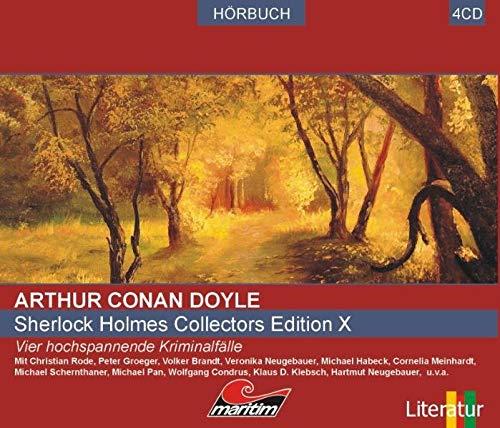 9783867142328: Sherlock Holmes Collector's-Edition 10: Vier Kriminalgeschichten