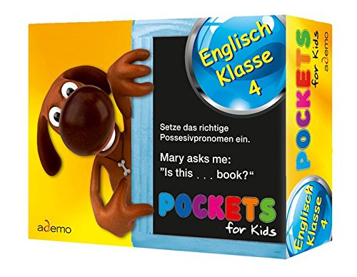 9783867150194: Pockets for kids, Englisch Klasse 4
