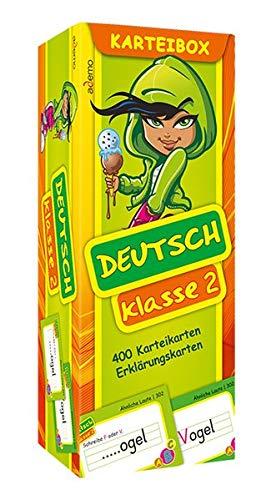 9783867150651: Deutsch Klasse 2 Karteibox