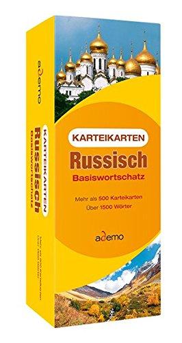 9783867151054: Karteikarten Russisch Basiswortschatz