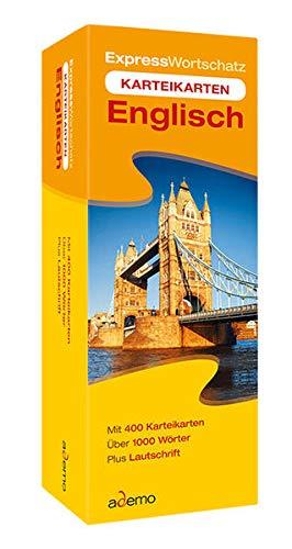 9783867151504: Expresswortschatz Englisch, Karteikarten in Lernbox