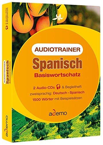 9783867152020: Audiotrainer Spanisch Basiswortschatz. 2 CDs: 1500 Wörter mit Beispielsätzen