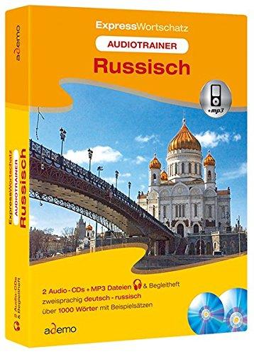 9783867152099: Audiotrainer Expresswortschatz Russisch mit Begleitheft