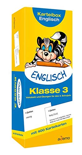 9783867154284: Karteibox Englisch Klasse 3