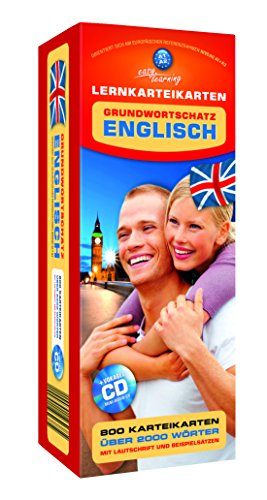 9783867157001: Karteikarten Englisch Grundwortschatz + Mini Audio CD
