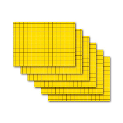 9783867157988: Karteikarten 200 Stück A5 zitronengelb kariert