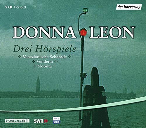 9783867171076: Drei Hörspiele: Venezianische Scharade /Vendetta /Nobiltà