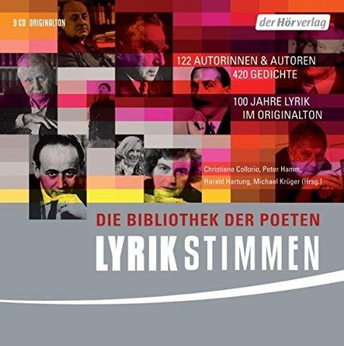 Lyrikstimmen, 9 Audio-CDs: Collorio, Christiane /
