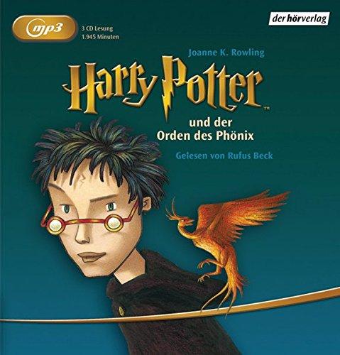9783867176552: Harry Potter und der Orden des Phönix Mp3 Rl