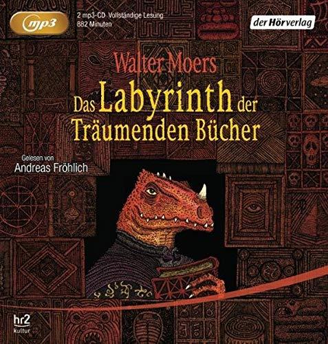 Das Labyrinth der träumenden Bücher. 2 MP3-Cd's: Walter Moers