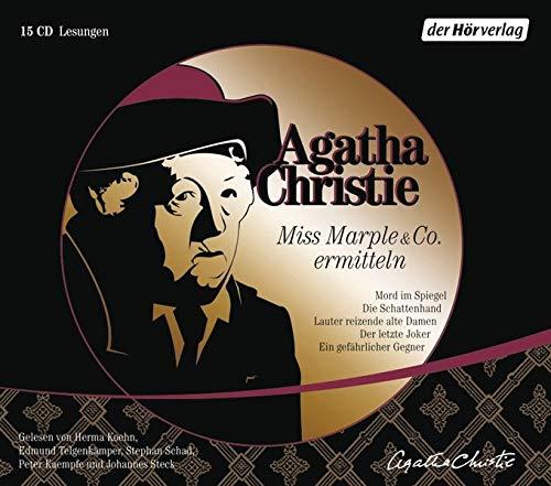 Miss Marple & Co. ermitteln: Mord im Spiegel, Die Schattenhand, Lauter reizende alte Damen, Der letzte Joker, Ein gefährlicher Gegner - Christie, Agatha
