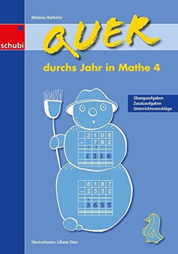 9783867231930: Quer durchs Jahr in Mathe. Bd.4