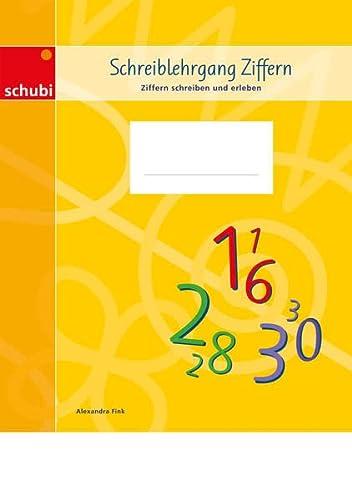 9783867232005: Schreiblehrgang Ziffern: Ziffern schreiben und erleben