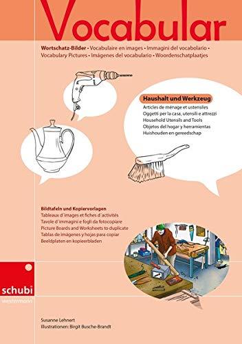 9783867232340: Vocabular Wortschatz-Bilder: Haushalt und Werkzeug