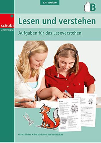 9783867232616: Lesen und verstehen, 5./6. Schuljahr B