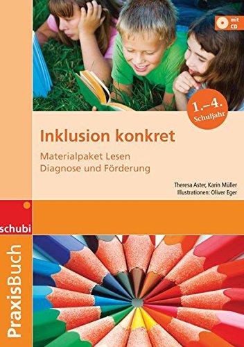 9783867234924: Inklusion konkret. Materialpaket: Materialpaket Lesen - Diagnose und Förderung: Praxisbuch