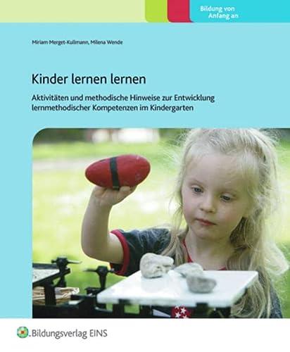 9783867238168: Kinder lernen Lernen