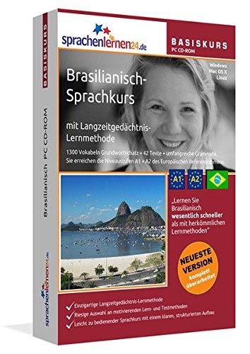 9783867253024: Brasilianisch Sprachkurs: Brasilianisches Portugiesisch lernen für Anfänger (A1/A2). Lernsoftware