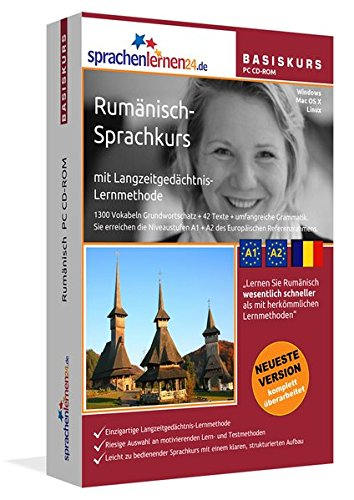 9783867253260: Sprachenlernen24.de Rum�nisch-Basis-Sprachkurs: PC CD-ROM f�r Windows/Linux/Mac OS X. Rum�nisch lernen f�r Anf�nger.