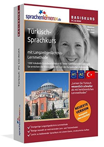 Sprachenlernen24.de Türkisch-Basis-Sprachkurs CD-ROM für Windows/Linux/Mac OS X: Sprachenlernen24