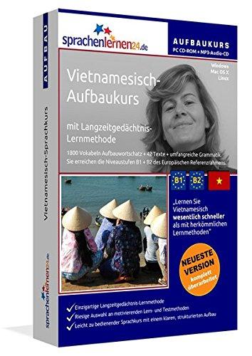 9783867256452: Vietnamesisch-Aufbaukurs: Lernstufen B1+B2. Lernsoftware auf CD-ROM + MP3-Audio-CD für Windows/Linux/Mac OS X. Fließend Vietnamesisch lernen für Fortgeschrittene mit Langzeitgedächtnis-Lernmethode